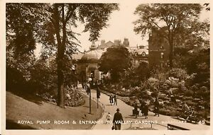 HARROGATE-Yorks-Pump-Room-and-Entrance-to-Gardens-RP