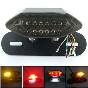 LED-Motorcycle-Quad-ATV-Tail-Turn-Signal-Brake-License-Plate-Integrated-Light