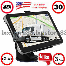 "7"" TRUCK CAR GPS SAT NAV NAVIGATION SYSTEM NAVIGATOR 4GB All US FREE MAP USA VIP"