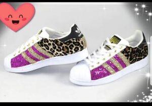 adidas superstar shoes glitter