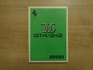 Ferrari-365-GT4-2-2-Owners-Handbook-Manual