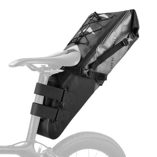 RockBros Waterproof Bike Saddle Bag Large Capacity Cycling Rear Seat Pack