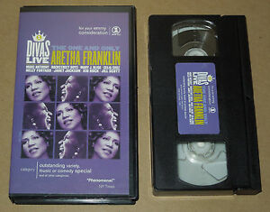 VH1-Divas-Live-The-One-and-Only-Aretha-Franklin-with-Various-Artists-VHS-2001