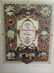 Arthur-Szyk-The-United-States-of-America-signed-in-pencil-collotype-lithograph
