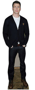 Chris Evans Lifesize Celebrity Cardboard Cutout Standee Stand Up Standee