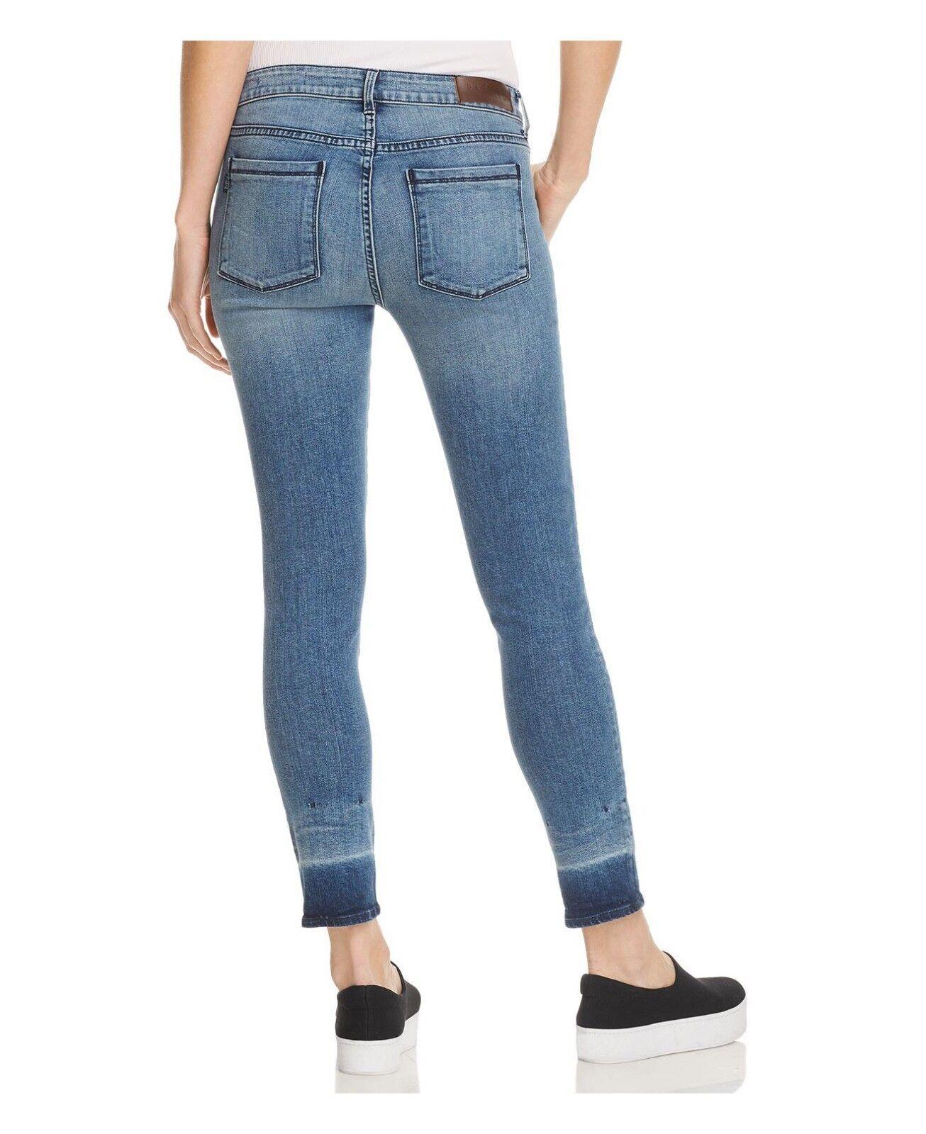 NEU DAMEN Parker Smith Jeans mit Kam Ausschnitt Skinny in Koralle Größe 4=27