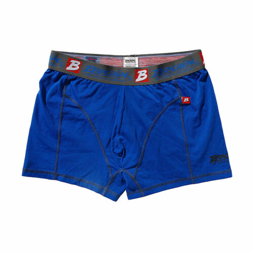 Etoffé 2 pack Boxer Under Bleu /& Noir Blue /& Black Short Boxer Shorts