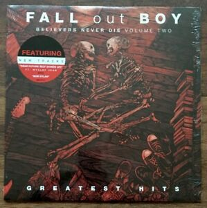 Fall-Out-Boy-Believers-Never-Die-Vol-2-Greatest-Hits-LP-Vinyl-New-Album