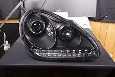 Scheinwerfer Xenon Daylight LED TFL-Optik Porsche Cayenne Bj. 03-07 schwarz Sche