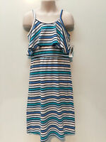 Old Navy Spring Summer Cotton Rayon Stripes Dress Size Girl 5