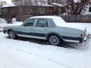 82 Pontiac snow machine