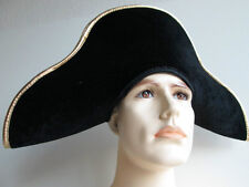 ADULT MENS FRENCH ARMY 18TH CENTURY GENERAL NAPOLEON BONAPARTE COSTUME HAT
