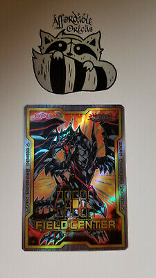 B. Dragon Yugioh Red-Eyes Black Dragon Field Center ORICA Foil