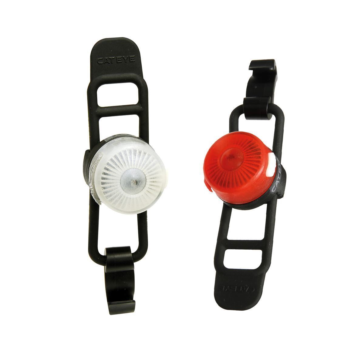 Bike Front & Rear Light  USB Rechargeable Cateye Loop Set Bicycle Head Tail Lamp  discounts and more