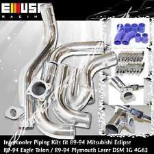 Intercooler Piping Kit fit 90-94Eagle Talon TSi Hatchback 3D 2.0 DSM 1G 4G63