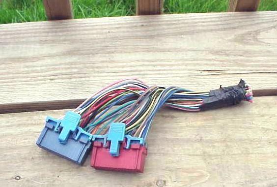 1993 95 Chevrolet G10 20 30 Van Ecm Wire Harness Pigtail Ebay