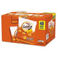 Pepperidge Farm Goldfish Crackers Cheddar 1 Oz Bag 45/carton 1051900 on sale