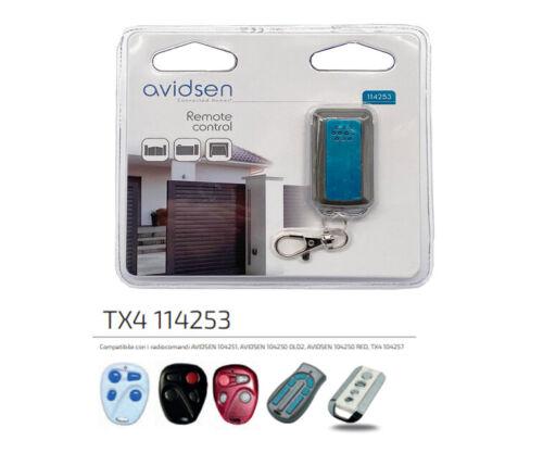 Telecomando Avidsen 104257 originale sostituisce 104250 104706 104350 433 Mhz df