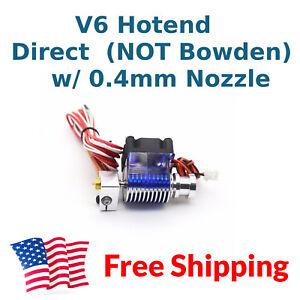 Franc 24 V V6 J-head Direct Drive Hotend Kit 1.75 Mm 24 V Extrudeuse Libre Nous Livraison-afficher Le Titre D'origine Haute Qualité Et Bas Frais GéNéRaux