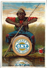 Vintage Trade Card. CLARK's O.M.T. Spool Cotton. George A. Clark.  (BI#BX77)