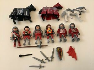 Playmobil Falcon/Dragon Knights,Weapons and Horses