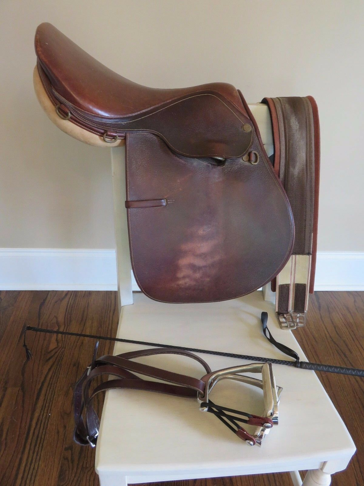 Nice Quality Saddlery (Henri di Rivel HDR) English Equestrian Saddle 16.5  +XTRA