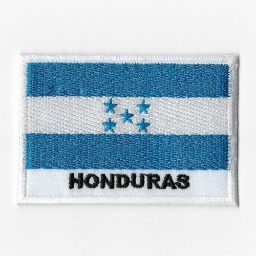 Honduras National Flag Iron on Patches Embroidered Applique Badge Emblem