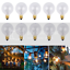 thumbnail 15 - 9/25Pcs G40 Globe Replacement Bulbs For Indoor Outdoor Festoon String Lights