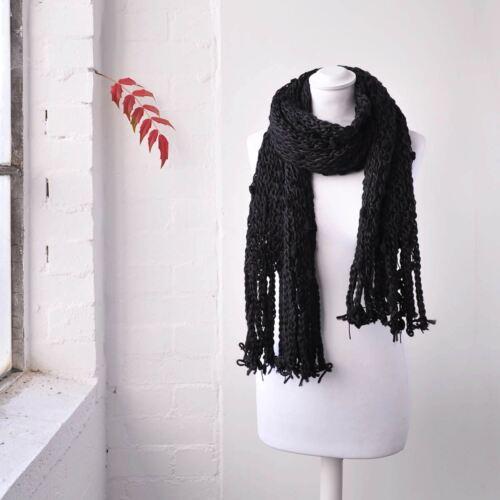 Women Lovely Bubble Chunky Knit Scarf Winter Bubbles Warm Scarves