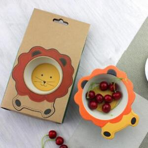 Solid Feeding Confident Baby Cartoon Animals Feeders Children Food Plate Dishes Tableware Dining Table Food Plate Baby Feeding Supplies Excellent Quality