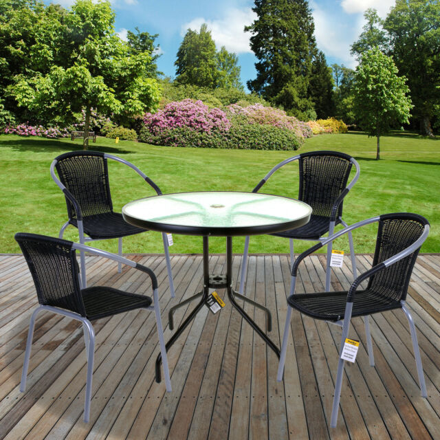 Awesome Garden Furniture Sets Outdoor Patio Seats Glass Tables Wicker Chairs Parasol Home Remodeling Inspirations Propsscottssportslandcom