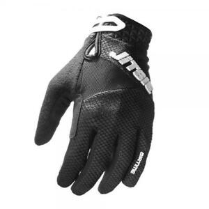 JITSIE-AIRTIME-TRIALS-BIKE-RIDING-GLOVES-BLACK-GREAT-QUALITY-COMFORTABLE