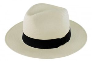 b15809bac7b49 Image is loading Failsworth-Millinery-Snap-Brim-Panama-Hat