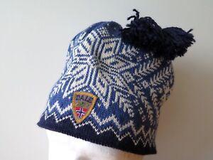 b7e24dc87 Details about Dale Of Norway Gjende Winter Wool Hat Dale Headwear One Size  NEW