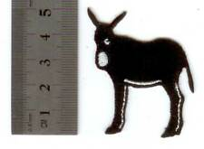 Parche bandera bordado cataluña catalonia burro  PATCH termoadhesivo