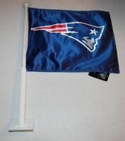 New England Patriots Car Mats - Deluxe Set