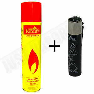 NEW NEON ULTRA REFINED BUTANE GAS FILTERED LIGHTER #1: s l300