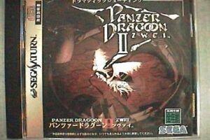 Sega-Saturn-PANZER-DRAGOON-II-2-ZWEI-Import-Japan-Game-ss