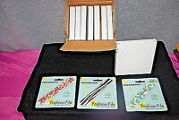 Case Of 24 Nail Files - Tweezerman Two-sided Design Fashion Files (nib) (s4652)