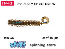 HART CURLY HF  COLOR #W WATERMELON IHCH46W SILICONICO mm46 ROCK FISHING