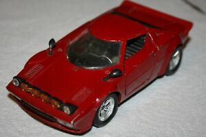 Polistil-Italy-Large-Red-amp-Black-LANCIA-STRATOS-Scale-1-25-Number-S-71