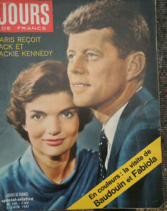 Days-France-342-3-June-1961-Jack-And-Jacky-Kennedy-Orly-Special-Aviation