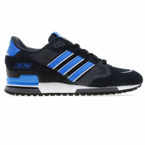 Adidas Originals Mens Trainers 750 Uk 7 8 Black Sizes 9 Black Blue 12 10 Zx 11 SSdqgwr