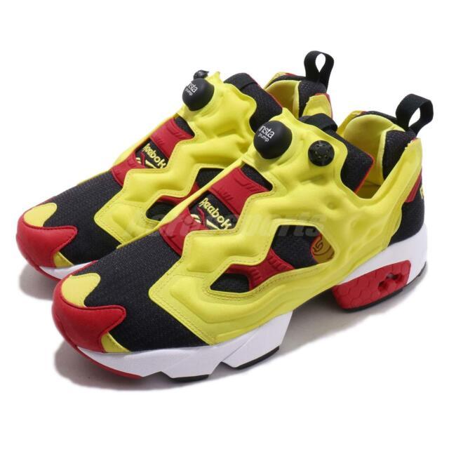 Reebok Insta Pump Fury Road Navy Yellow