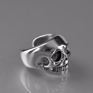 silver-skull-ear-cuff-clip-on-non-piercing-stainless-steel-single-earring-unisex