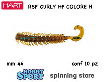 HART CURLY HF  COLOR #H BROWN IHCH46H SILICONICO mm46 ROCK FISHING