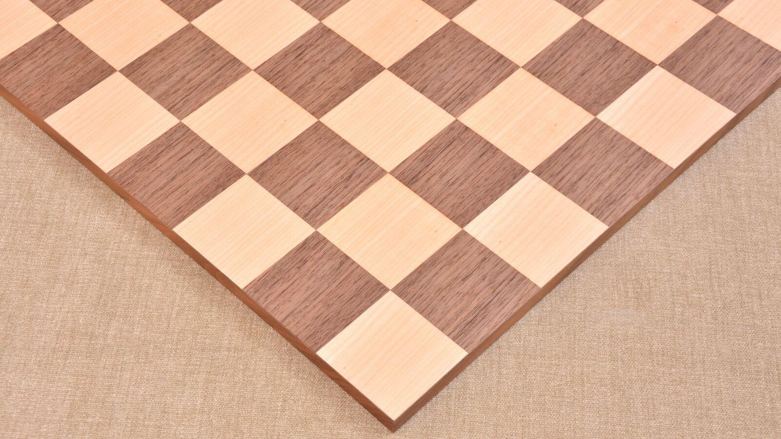 New Minimalist Walnut Walnut Walnut Maple Chess Board Matte Finish Borderless ChessBoard B1025 d5f1cd