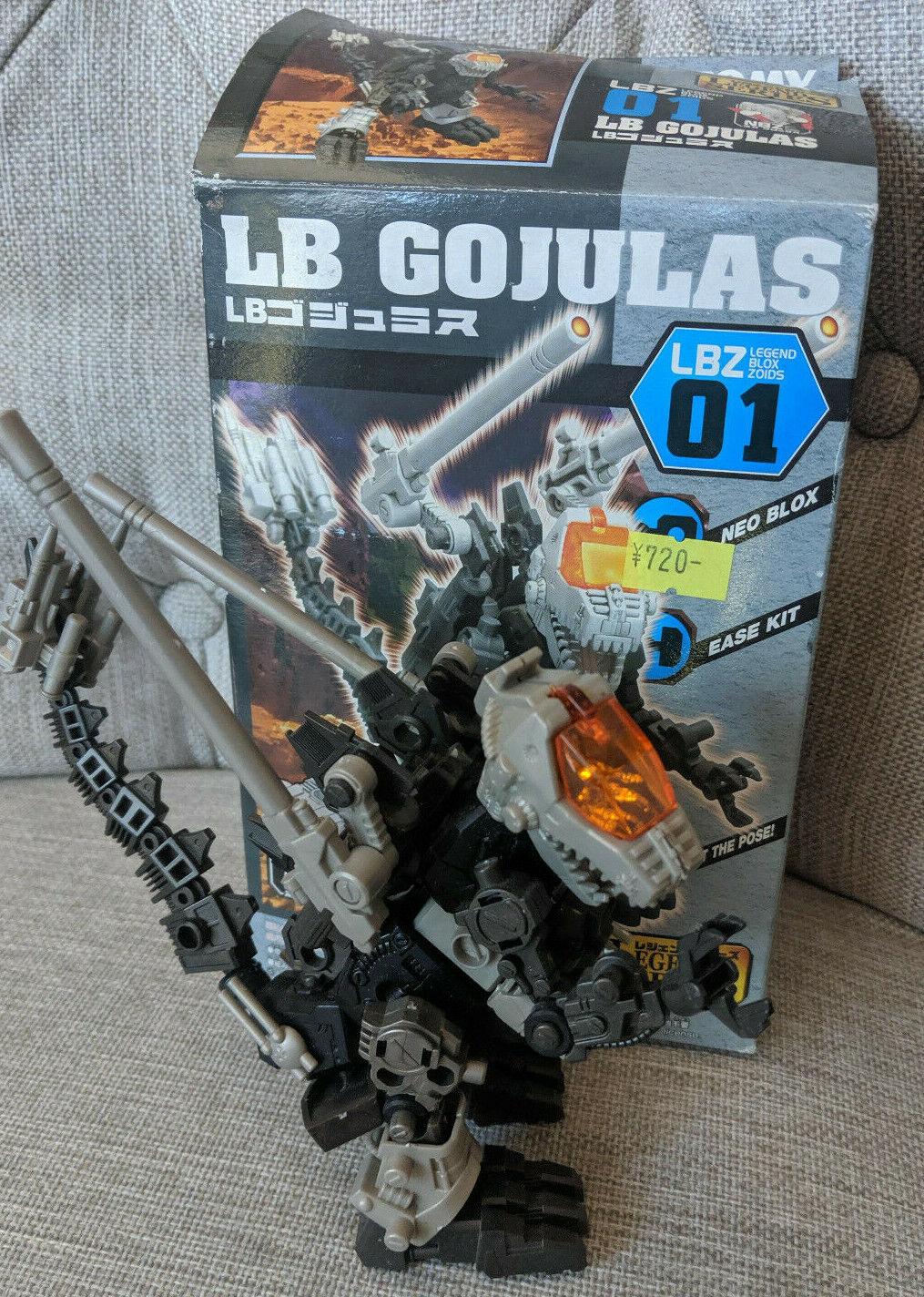 Zoids Genesis LBZ01 LB Gojulas with Box