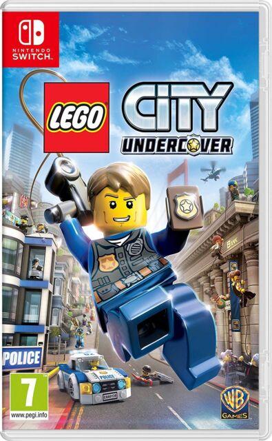 Lego City Undercover nintendo Interruptor 7 + Juego Niños Nuevo Precintado - GB
