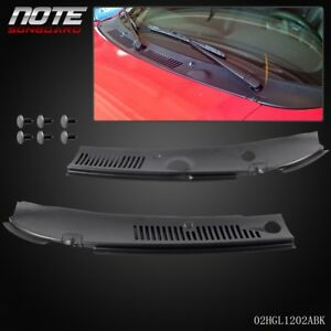 2Pc-For-99-04-Ford-Mustang-Windshield-IMPROVED-Wiper-Cowl-Vent-Grille-Panel-Hood